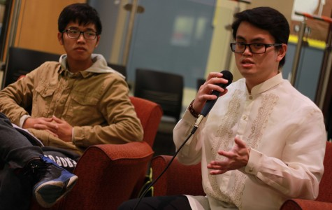 Students and faculty share their experiences at Culture Shock Event