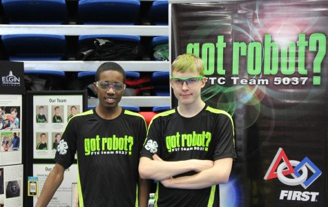 Photo from the robotics championship held at elgin community college