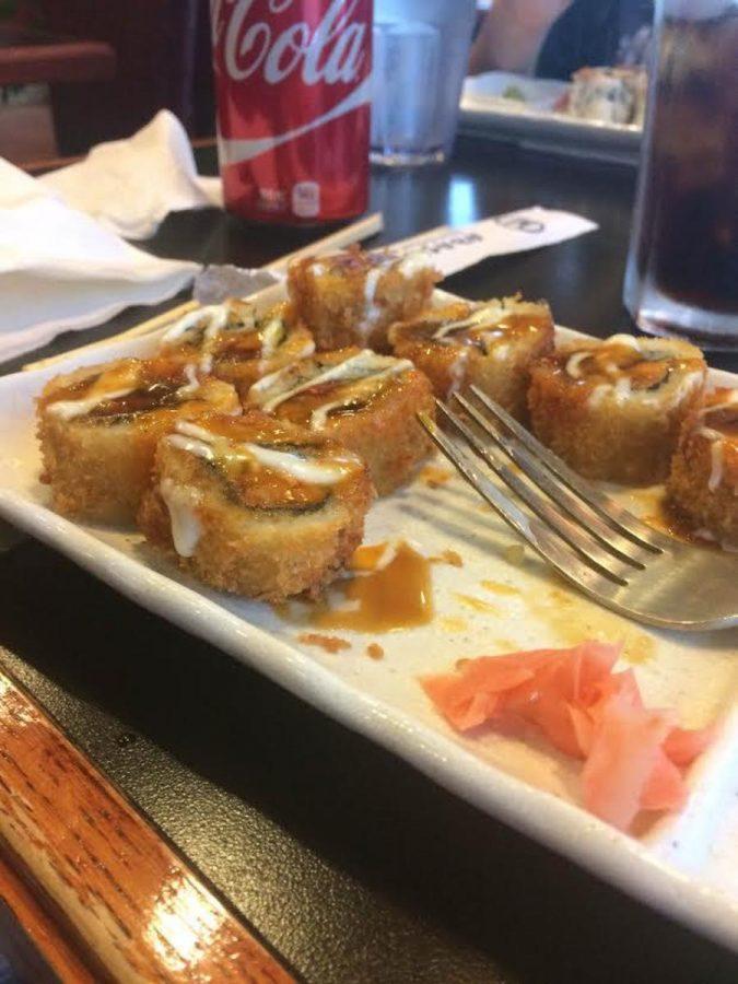 Sushi Cafe's Spicy Tuna Tempura Roll.