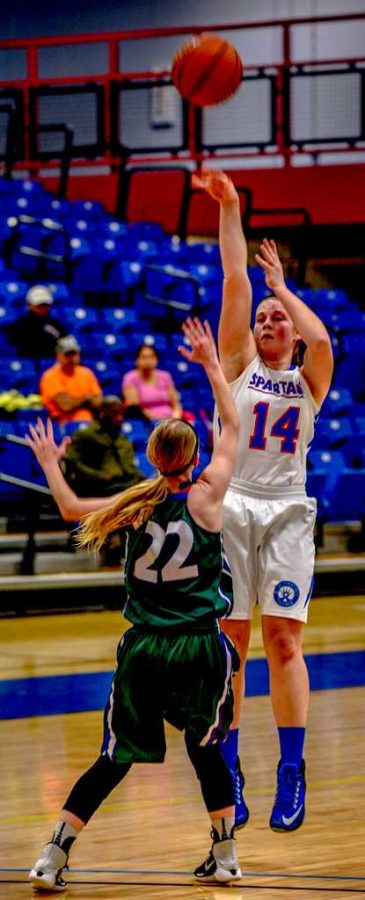 Lady Spartans end home season with a devastating loss