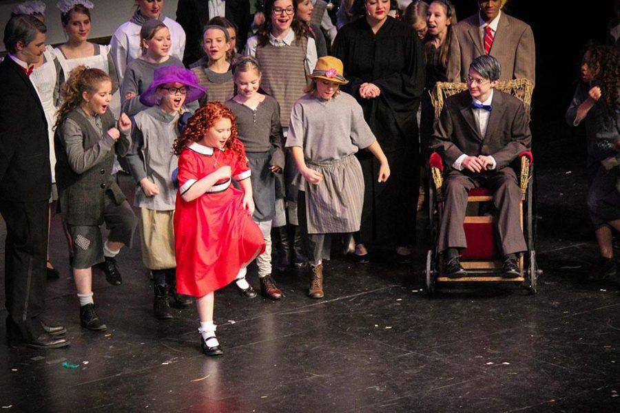 Little+Orphan+Annie+Hits+The+ECC+Blizzard+Theatre