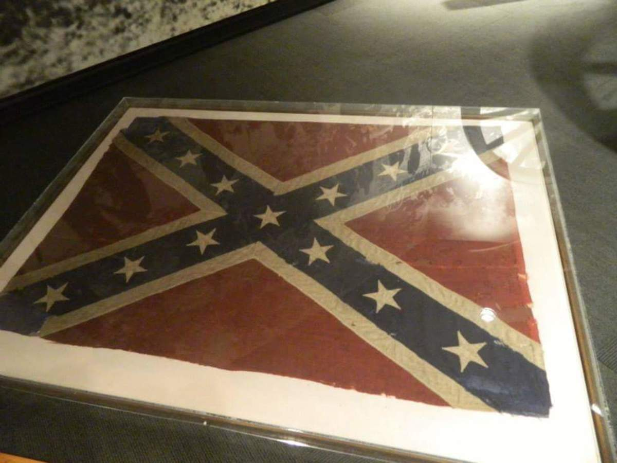 Many+protesters+are+wanting+to+have+the+confederate+flag+displayed+in+a+museum+instead+of+on+a+flag+pole
