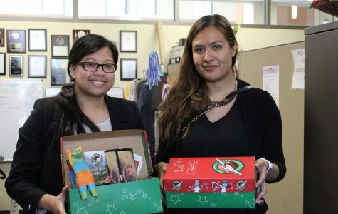 USAC prepares for the holidays with Operation Christmas Child