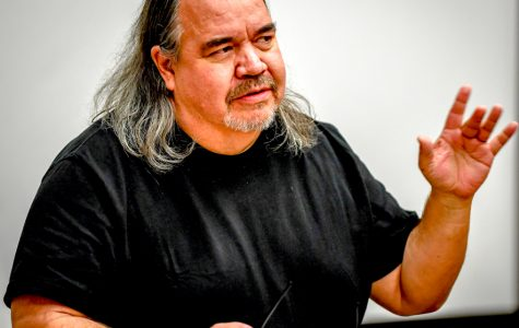Mark Turcotte brings his poetry to life at ECC's Coffee House event