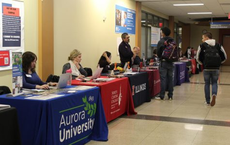 College representatives look to connect with students at ECC's Transfer fair