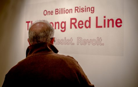 Long Red Line at ECC contributes to global movement