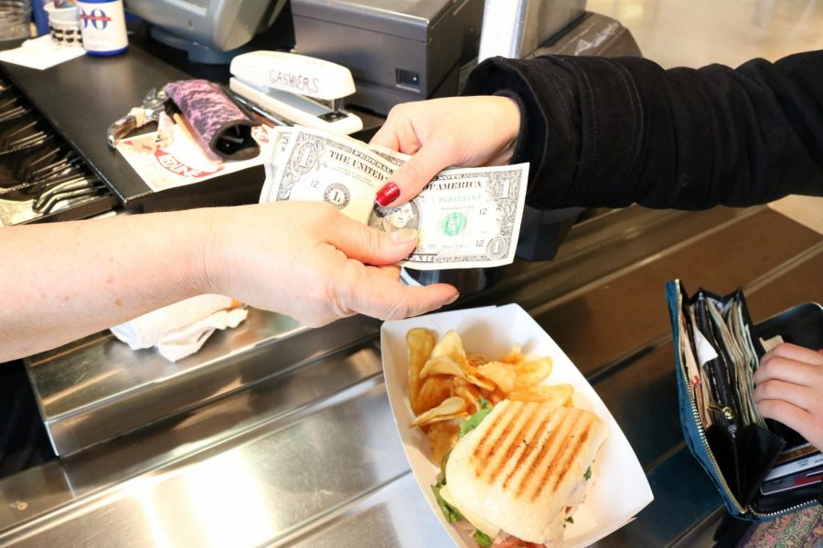 A rise in Cafeteria prices at ECC