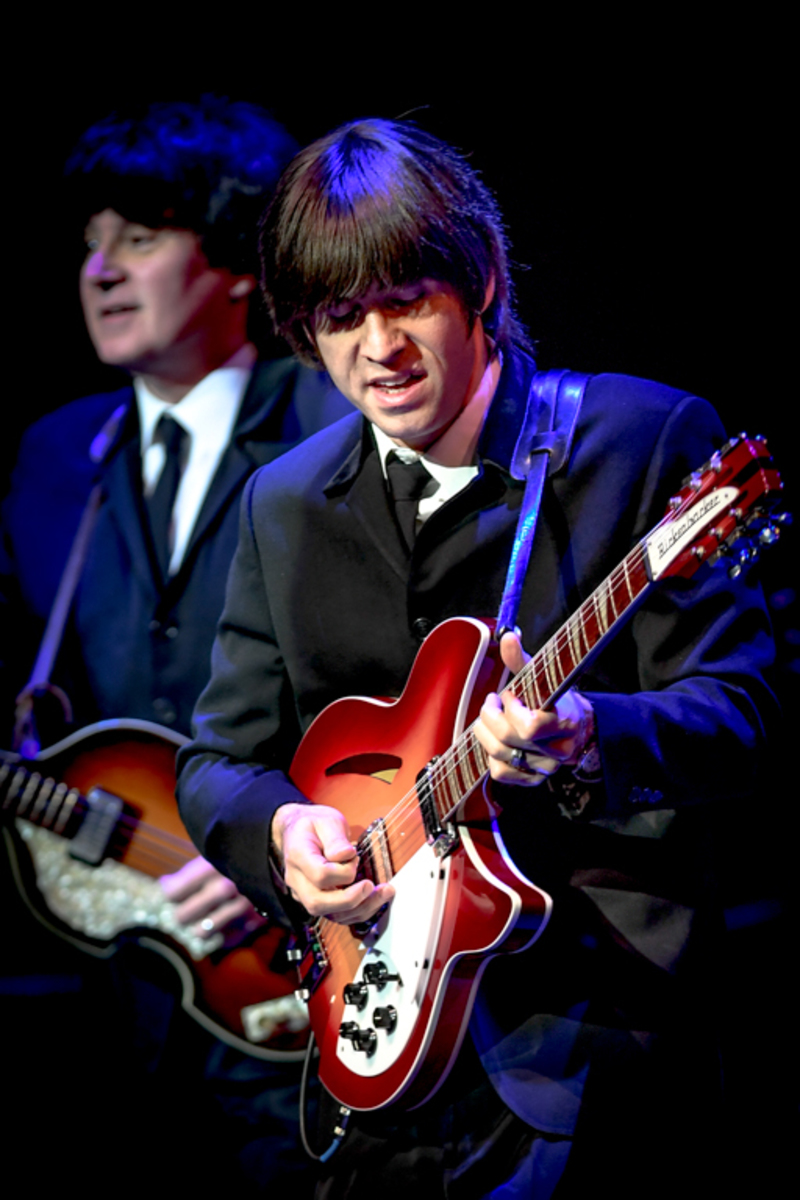 The+Beatles+tribute+band+American+English+performs+Saturday+evening+April+28+at+The+Blizzard+Auditorium%2C