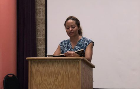C.M. Burroughs brings poetry to ECC