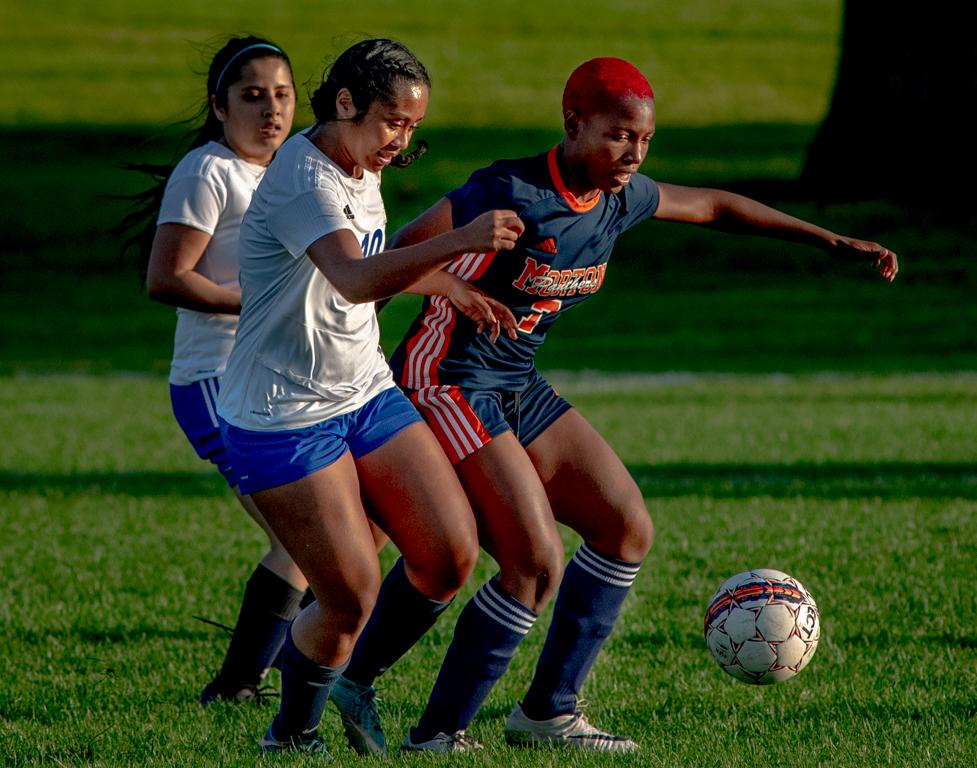 ECC Lady Spartans versus Morton Panthers October 3.