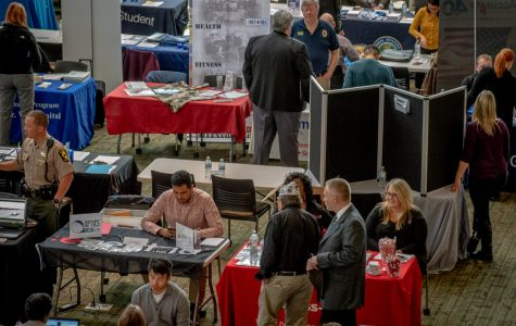 Vet's Job Fair hits the Jobe Lounge