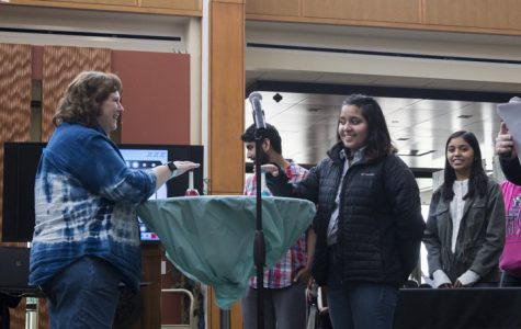 ECC students and faculty play Family Feud