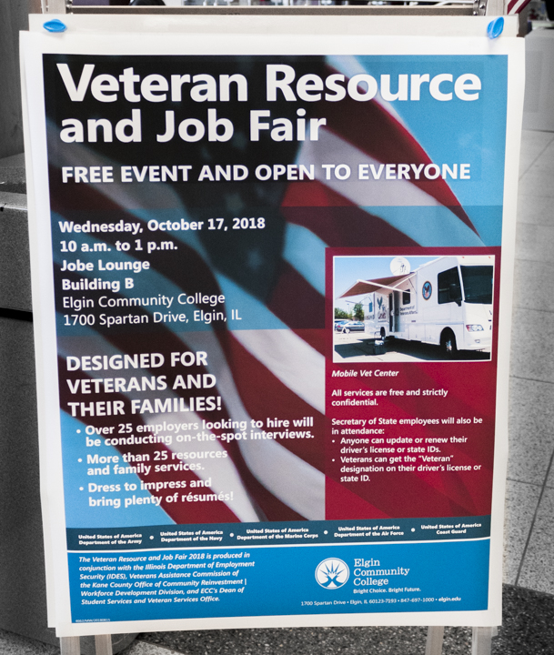 A+resource+and+job+fair+designed+for+veterans+and+their+families+held+in+the+Jobe+Lounge+on+Wednesday%2C+October+17.