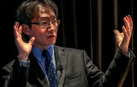 Ilsup Ahn discusses immigration and social justice for humanities speaker series