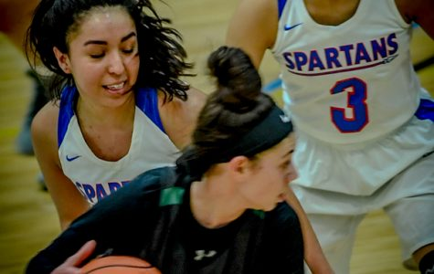 Lady Spartans own the ladies of Oakton in basketball