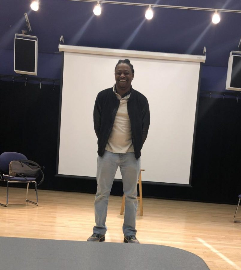 A+smiling+Terry+Holt%2C+the+man+responsible+for+bringing+Creon+to+life+this+year%2C+finds+himself+in+the+same+spot+where+the+auditions+for+his+role+took+place.
