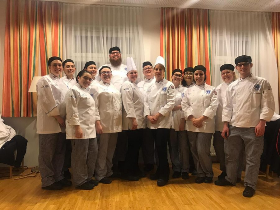 ECC%27s+culinary+team+of+spring+2019+back+at+the+hotel+after+having+cooked+for+the+%22American+Dinner.%22