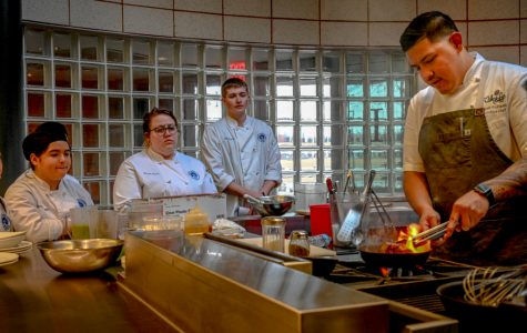ECC Culinary arts department hosts the 2019 spring visiting chef