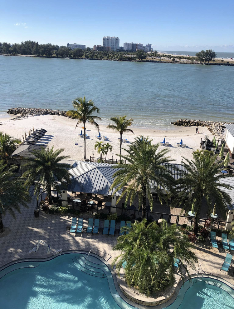 Tropical spring break destinations attract students ready to travel towards warmer weather and a oceanfront view.