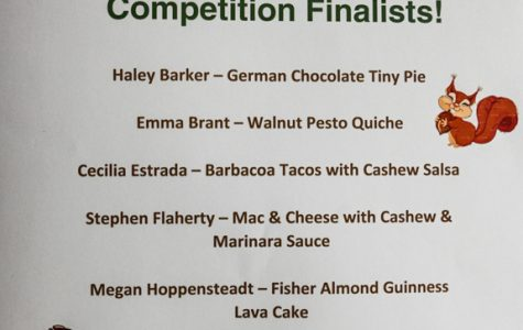 Winners crowned at Fisher Nuts culinary competition