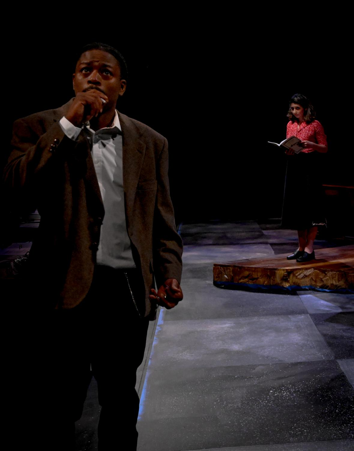 """ECC hosts several theater and musical shows that students can perform in each year. The photo above is from """"Antigone,"""