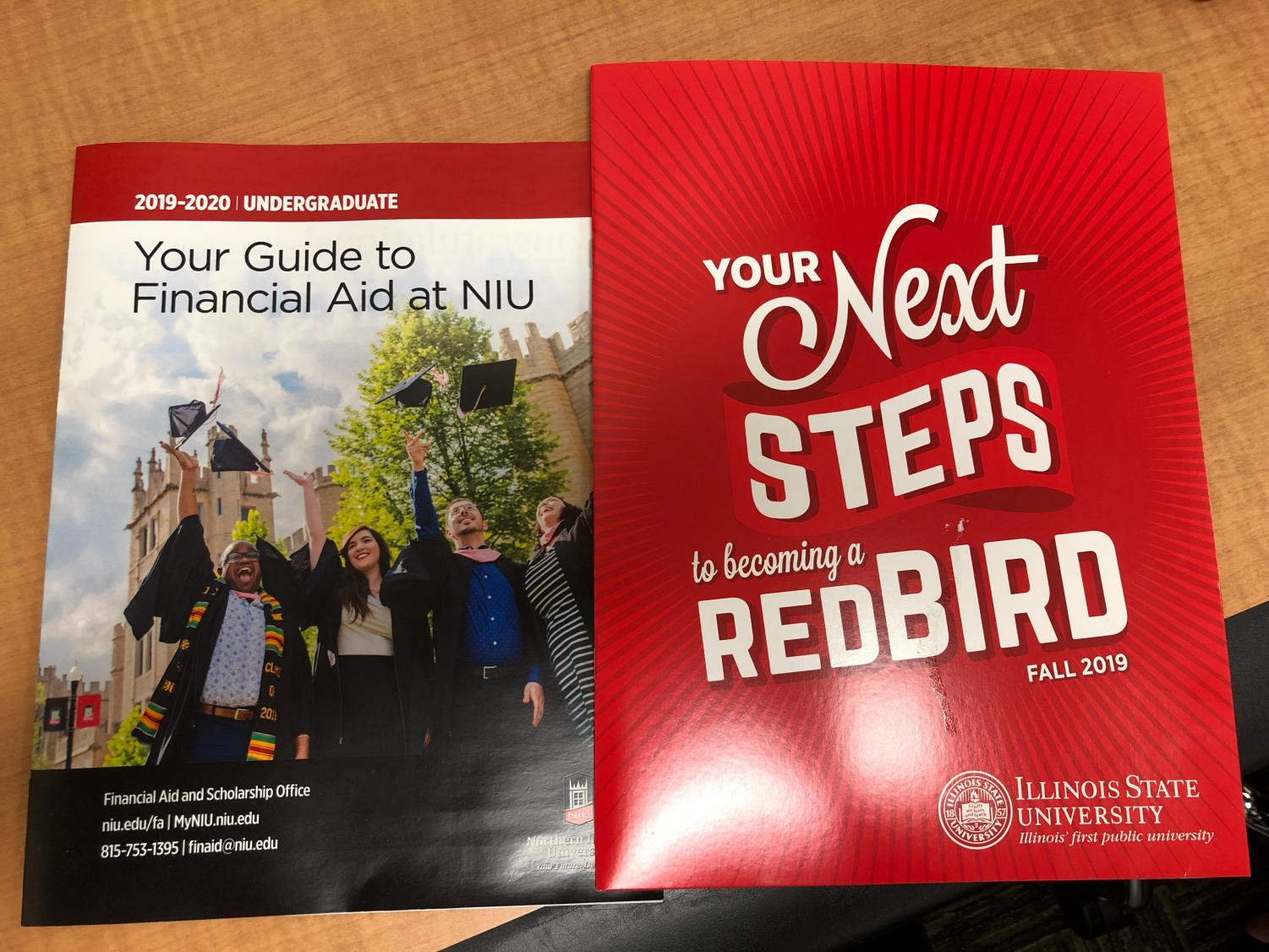 Northern Illinois University and Illinois State University are schools that work with ECC and transfer students.
