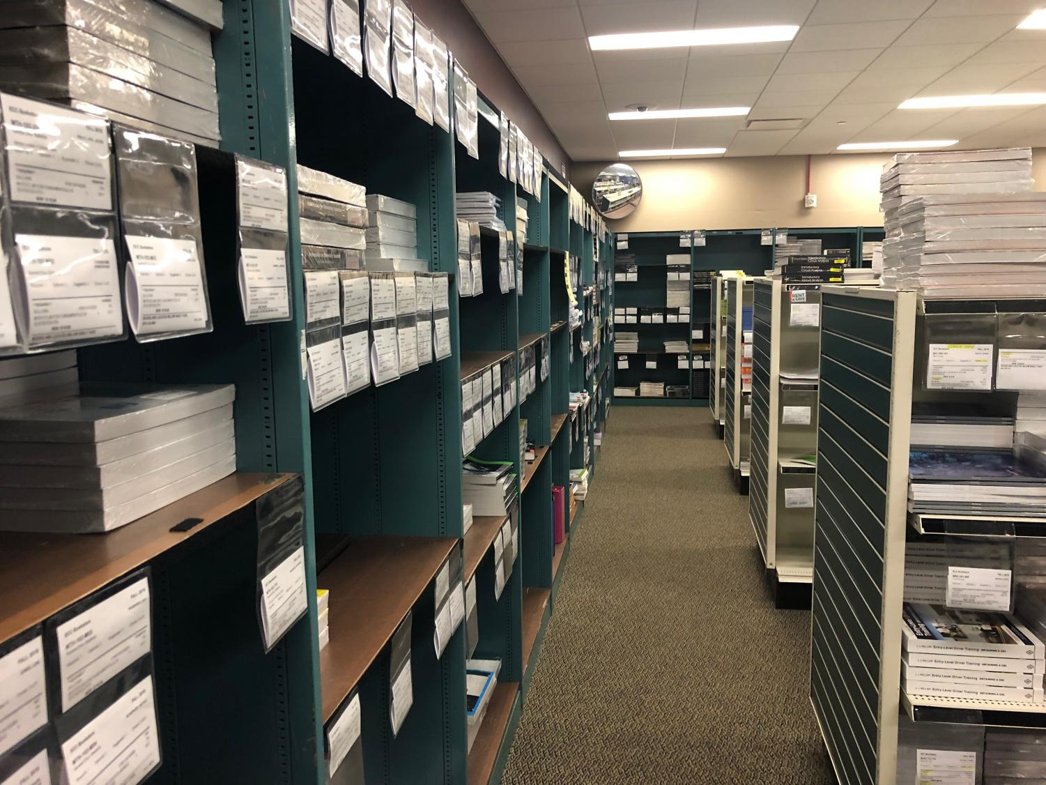 The ECC bookstore is available to all students and is open M-Th 8:00 a.m. - 7 p.m., F 8 a.m. - 4 p.m.