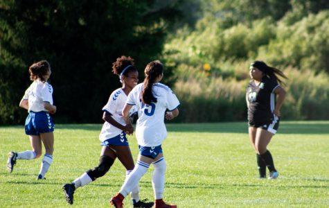 ECC Women's Soccer defeats Prairie State College 4-0 on Wednesday, August 28.