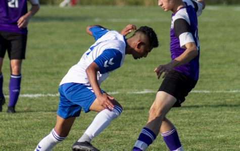 Scoring 5-4, Elgin Community College beats Illinois Valley Community College in men's soccer on Sept. 3.