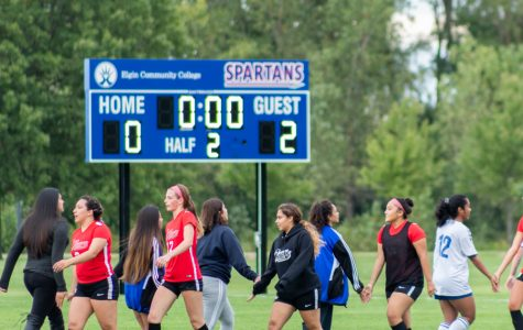 Elgin Community College loses women's soccer game against Waubonsee Community College 2-0 on Sept. 4.