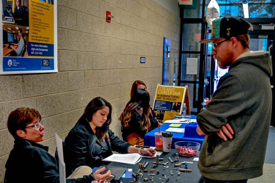 The Fall ECC Career and Job Fair in Building O