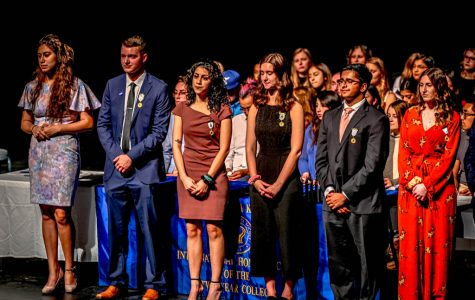Phi Theta Kappa fall induction ceremony