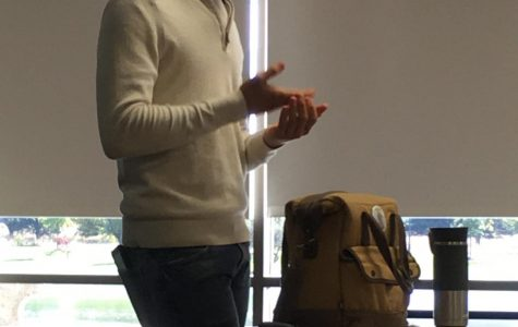Callegario showed just how easy it is to eat healthy by showing what he packed for lunch, including fruit, peanut butter and an egg.