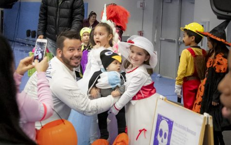 Families and ECC clubs and groups gather in the the Events Center for Boo Bash on Oct. 25.