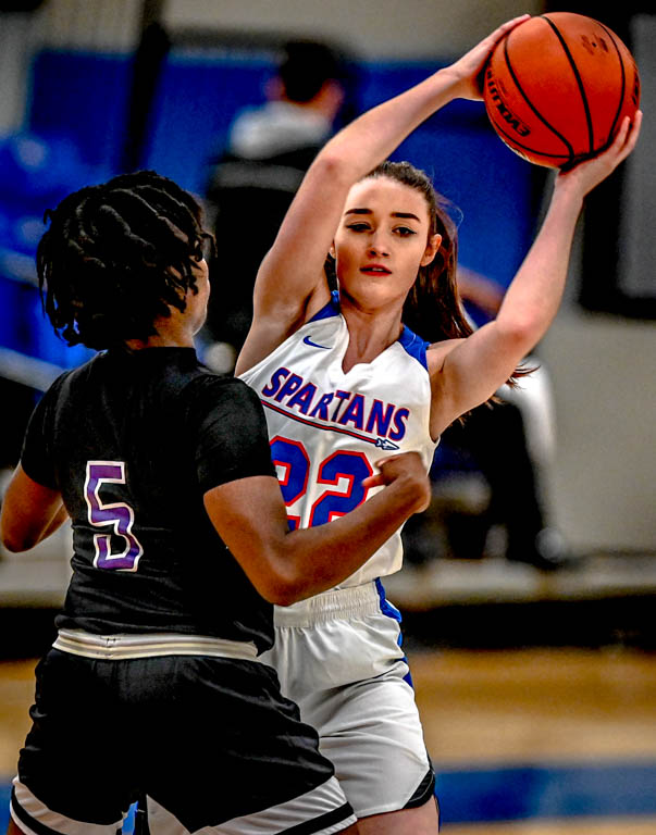 The+season+opener+for+2019+was+a+67-32+win+for+the+Lady+Spartans.++The+half+time+score+was+a+thirty+point+lead+over+Olive+Harvey+College.+The+second+half+just+widened+the+score.
