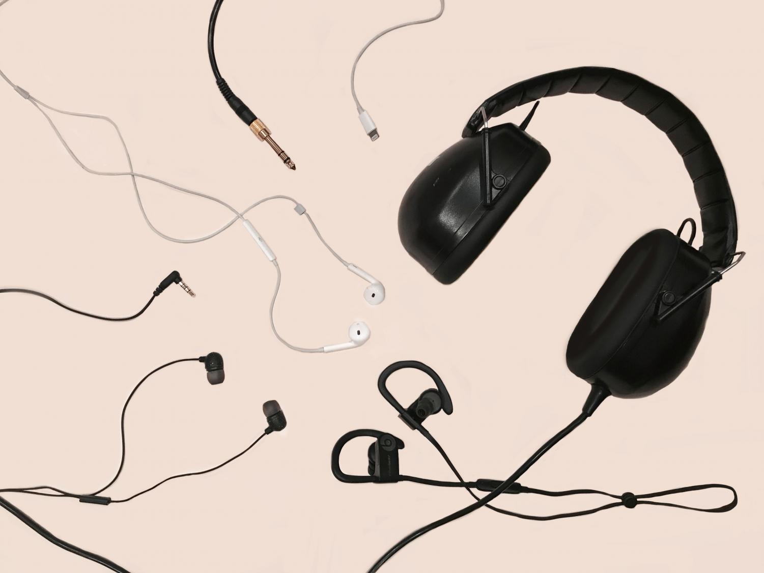 Headphones, earbuds or even bluetooth earplugs have become a necessity to people's everyday lives to listen to music.