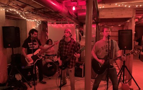 Local bass player creates venue for upcoming bands