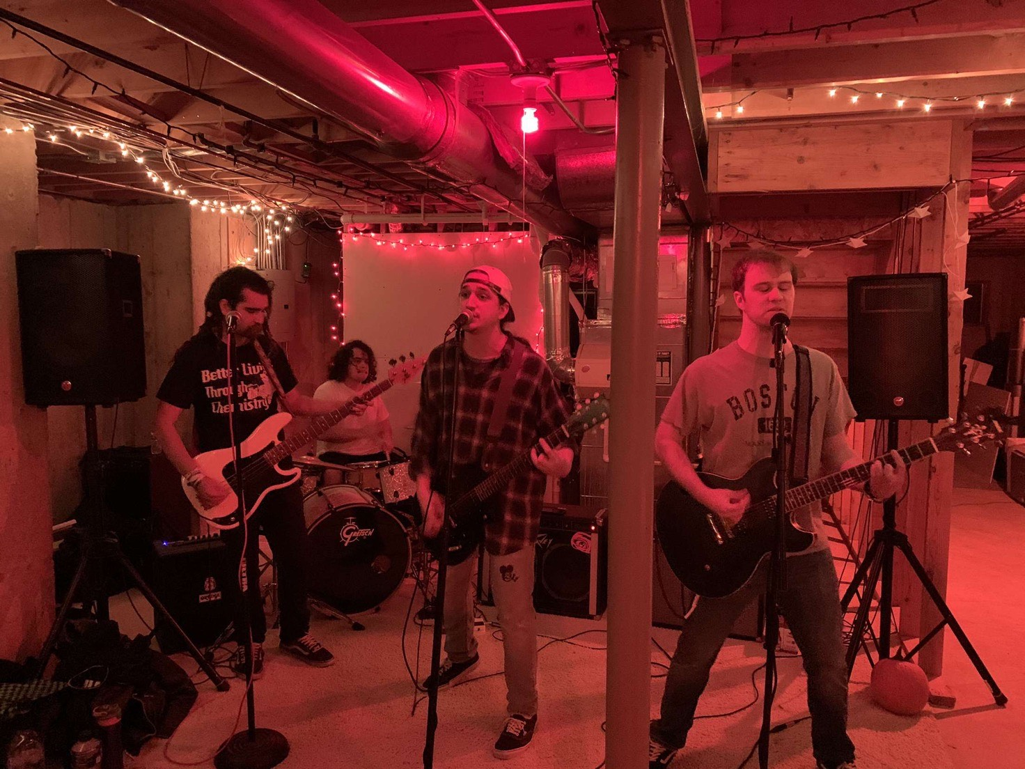 The Grow Ops playing a show at The Darkroom earlier this month.