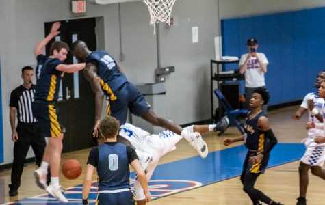 Elgin Community College's men's basketball play a close game against Rock Valley College, losing 80-76 on Nov. 26.