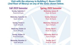 ECC Legal Clinics offer great services to students for free