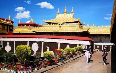 Photo of Potala palace in Lhasa, Tibet, China taken by ECC Chinese international student Ao Zhong.