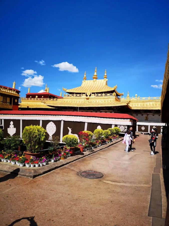 Photo of Potala palace in Lhasa, Tibet, China taken by ECC Chinese international student Ao Zhong.