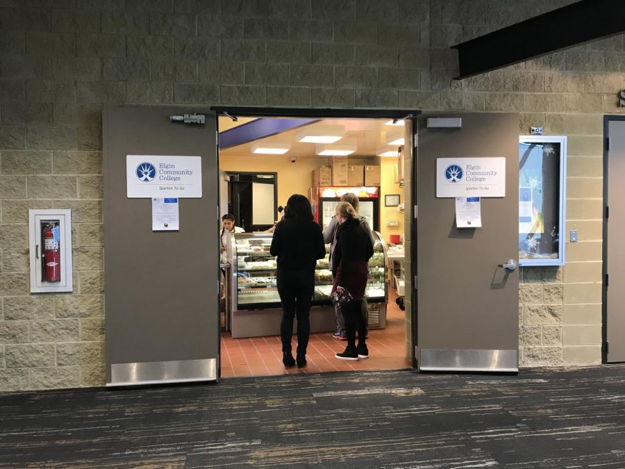 Spartan to-go in the H building is open on Wednesdays from 11am to 1:30pm.