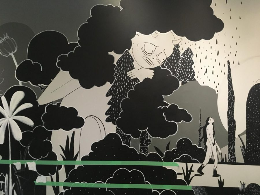 Student-made mural to be painted in ECC library