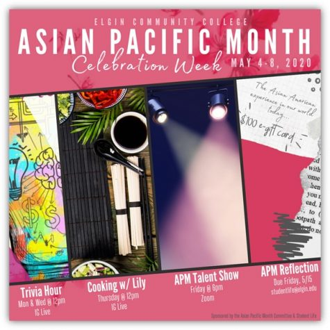 The Asian Pacific Heritage Month committee had to think outside the box to host events that could be done entirely remotely.