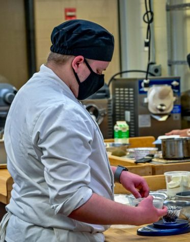 Spring 2021 enrollment is down with the pandemic cited as a major factor. While most classes are being taught online, some courses like culinary arts are still meeting on campus.