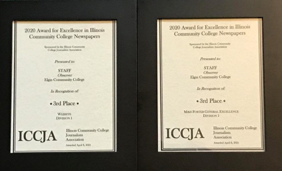 Observer earned 9 awards at state journalism competition