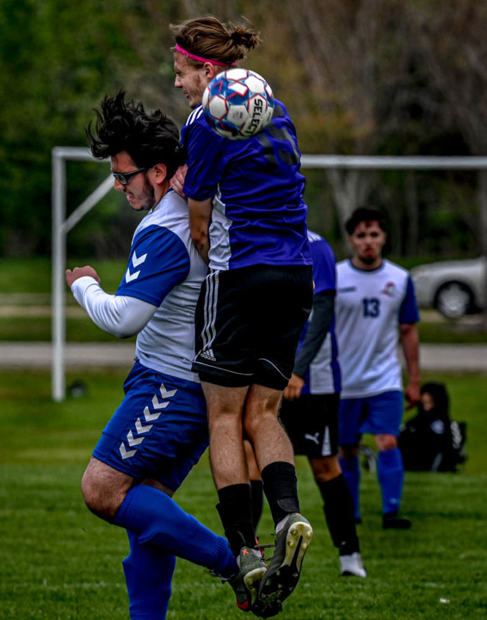 The ECC men's soccer team lost 2-1 on April 28. They finished their season with a win against Madison on May 13, ending their season with a 3-4 record.