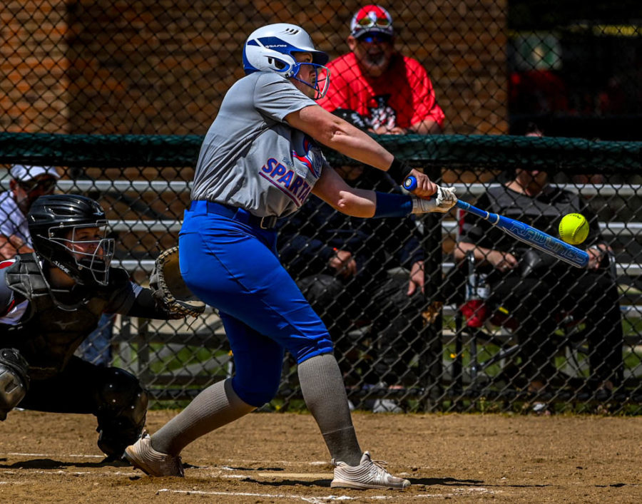 The softball team defeated Aquinas College (Grand Rapids MI) 11-10 on May 1. The Lady Spartans finished the season with a 9-13 record.