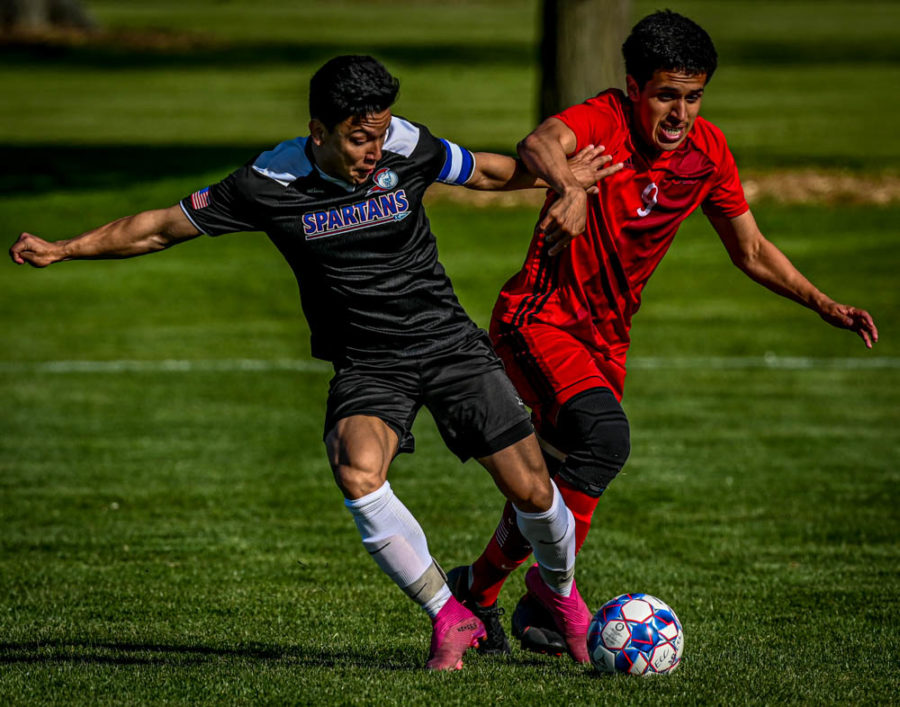 The ECC men's soccer team lost 5-2 on May 12 against Waubonsee Community College. They finished their season with a win against Madison on May 13, ending their season with a 3-4 record.